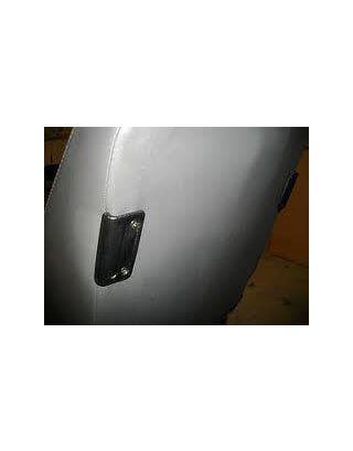 Seat back black moulded bulkhead rubbing strip/trim FITS Land Rover Defender 90/110