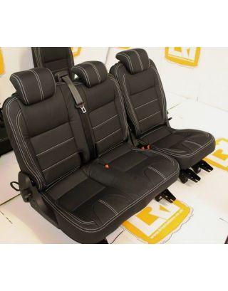 TDCI 60/40 Full Leather Seat Retrim Fits Land Rover Defender 110