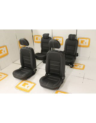 TDCI 4 seats full leather interior kit front rear Fit Land Rover Defender 90