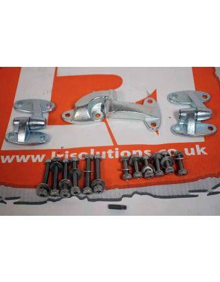 Rear Door Hinge Set + stainless steel bolt set Fits Land Rover Defender 90/110