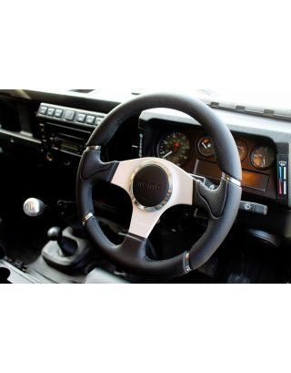 "48 spline MOMO Millenium 14"" steering wheel boss Fits Land Rover Defender 90 110"