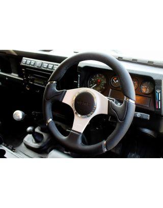 "2015 MY MOMO Millenium 14"" steering wheel + boss Fits Land Rover Defender 90 110"