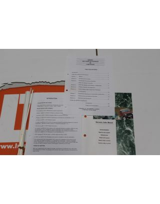 LRL0096FRE FRENCH Genuine Range Rover / Discovery 1 Warranty Codes Manual