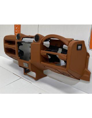TDCI dashboard leather re trim service inc retrim of 4 part dash kit