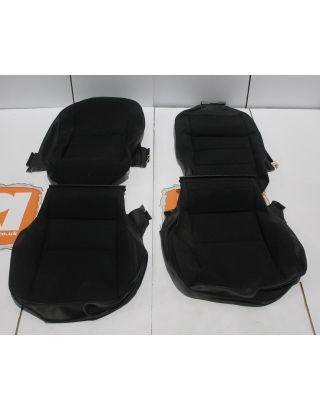 Land Rover Defender TDCI/PUMA rear forward facing seat covers mondus cloth load area 90/110 new