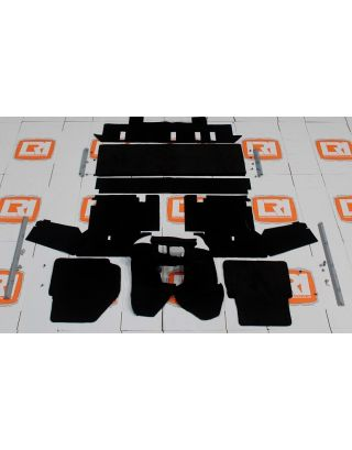 TDCI RHD 110 Double cab LUXURY Full Front Rear Carpet Set Fits Land Rover Defender