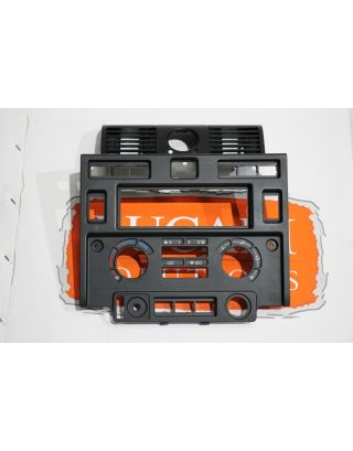 USED Genuine Land Rover Defender TDCI centre dash facia switch/stereo panel 90 110