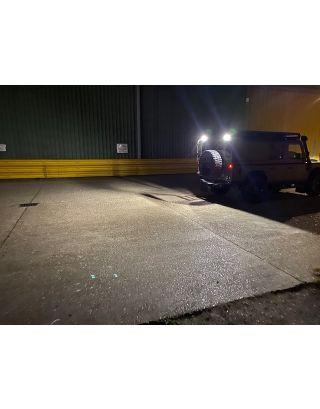 LED work light Labcraft SI9 scene light black for all Land Rover Defender 90 110