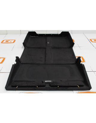 110 full roof/head lining + visors ebony black trim Fits Land Rover Defender