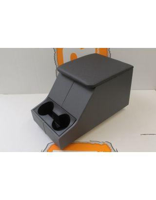 Grey Denim twill vinyl front centre cubby box Fits Land Rover Defender 90/110