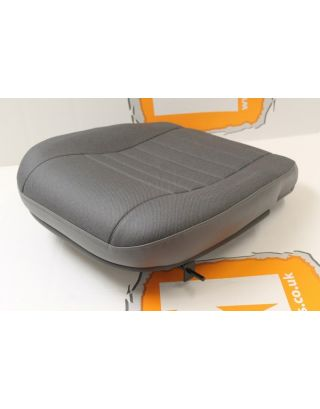 Replacement front outer seat base grey twill vinyl Fits Land Rover Defender 90/110