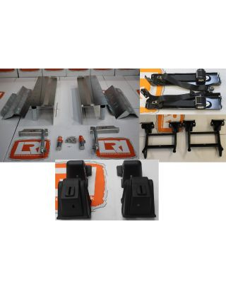 TDCI rear seats complete arch conversion fitting Kit Fits Land Rover Defender 90