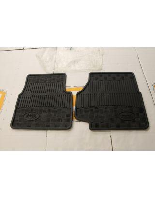 Genuine Land Rover Defender R380 TD5 300 TDI front rubber floor mat kit 90/110