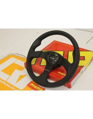 "15MY MOMO JET 14"" sport steering wheel+ boss Fits Land Rover Defender 90/110"