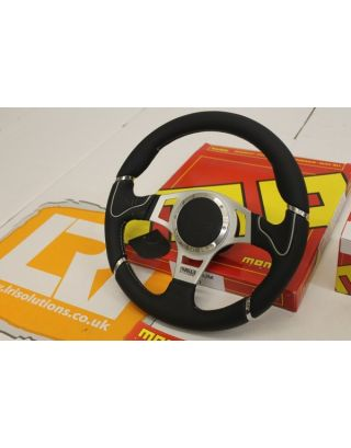 "15 MY MOMO Millenium sport 14"" steering wheel + boss Fits Land Rover Defender 90 110"