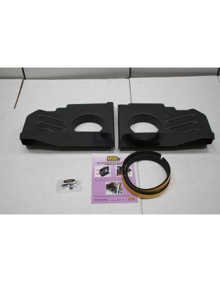 "130MM 5.25"" Rear arch speaker plastic panels Fit Land Rover Defender 90 110"