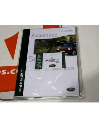 Genuine Land Rover Defender FRENCH replacement service book portfolio LRL0302FRE