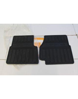 Genuine Land Rover Defender TDCI 2.2 2.4 front rubber floor black mat kit 90/110