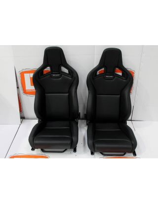 Part leather Recaro pair of front seats Fits Land Rover Defender 90/110