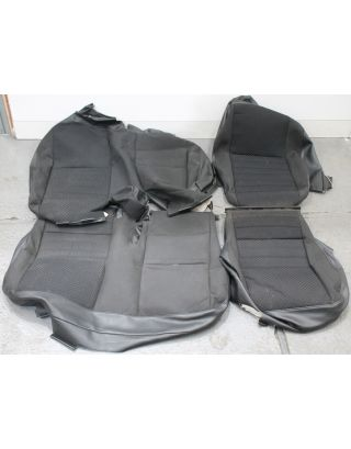 H2) USED Mondus cloth Land Rover Defender 110 TDCI 2nd row 60:40 seat covers