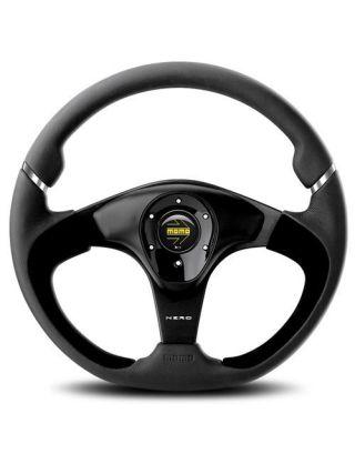 "Momo Nero 14"" 350mm steering wheel"