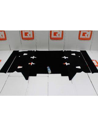 Station wagon TDCI black rear carpet mat set PREMIUM Fit Land Rover Defender 110