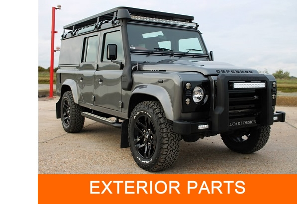 Browse our range of exterior parts suitable for Land Rover Defenders from LRI Solutions
