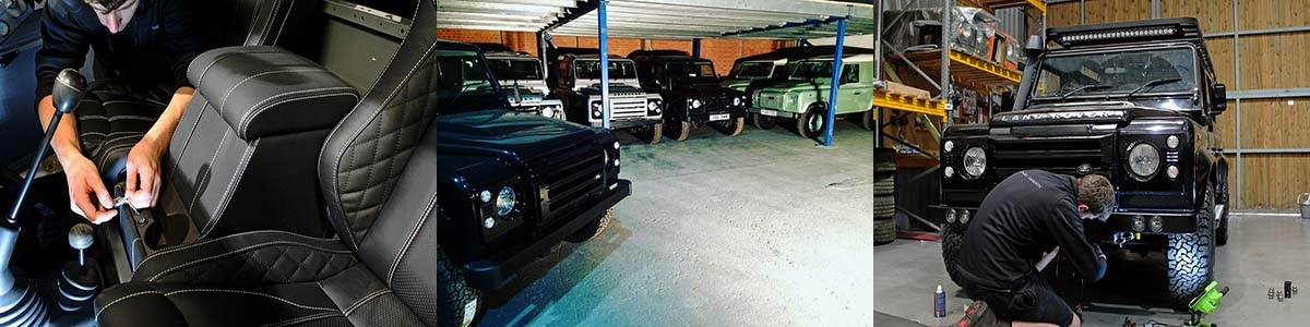 Defender Accessory Fitting Centre Now Open